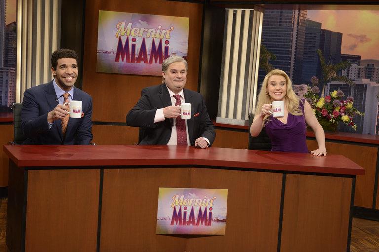 """Mornin' Miami"" on Saturday Night Live on January 18, 2014."