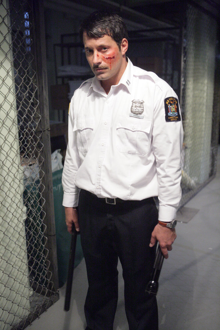 """LAW & ORDER: SPECIAL VICTIMS UNIT -- """"Undercover"""" Episode 9015 -- Pictured: Johnny Messner as Lowell Harris -- NBC Photo: Virginia Sherwood"""