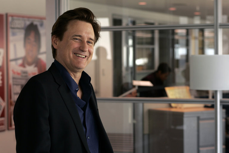 """LAW & ORDER: SPECIAL VICTIMS UNIT -- """"Closet"""" Episode 916 -- Pictured: Bill Pullman as Kurt Foss -- NBC Photo: Will Hart"""