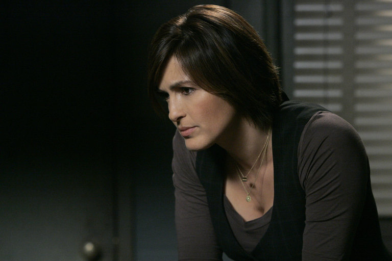 "LAW & ORDER: SPECIAL VICTIMS UNIT-- ""Authority"" Episode 90017 -- Airdate 04/29/2008 -- Pictured: Mariska Hargitay as Det. Olivia Benson -- NBC Photo: Virginia Sherwood"