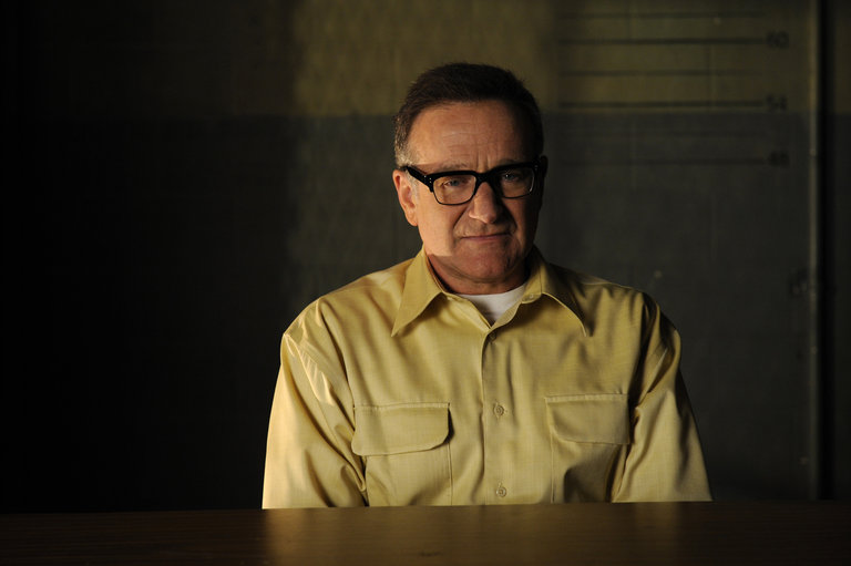 "LAW & ORDER: SPECIAL VICTIMS UNIT-- ""Authority"" Episode 90017 -- Airdate 04/29/2008 -- Pictured: Robin Williams as Merritt Rook -- NBC Photo: Virginia Sherwood"