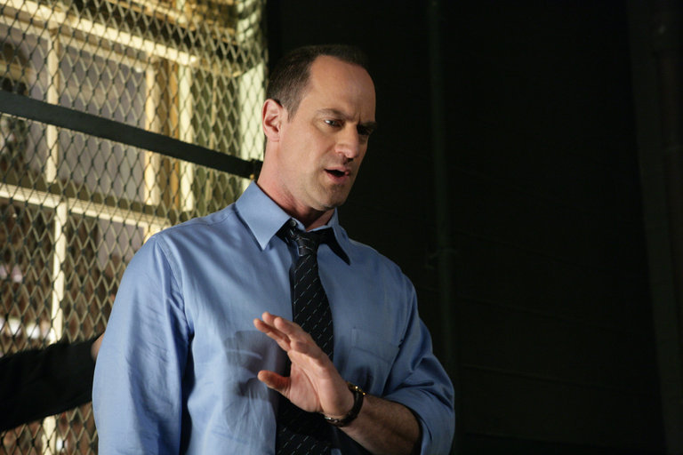 "LAW & ORDER: SPECIAL VICTIMS UNIT-- ""Authority"" Episode 90017 -- Airdate 04/29/2008  -- Pictured: Chris Meloni as Det. Elliot Stabler -- NBC Photo: Virginia Sherwood"