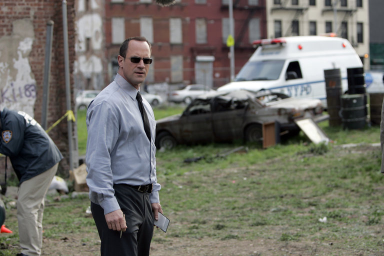 "LAW & ORDER: SPECIAL VICTIMS UNIT -- ""Cold"" Episode 919 -- Pictured: Christopher Meloni as Det. Elliot Stabler -- NBC Photo: Will Hart"