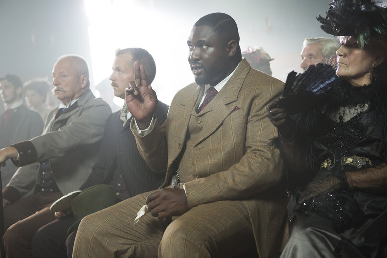 Pictured: Nonso Anozie as R.M. Renfield