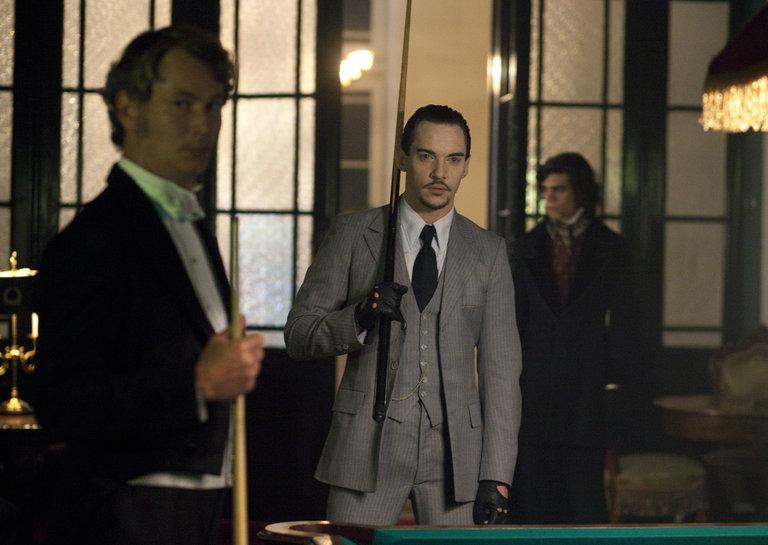 Episode 109 -- Pictured: (l-r) Jonathan Rhys Meyers as Alexander Grayson -- (Photo by: Egon Endrenyi/NBC)