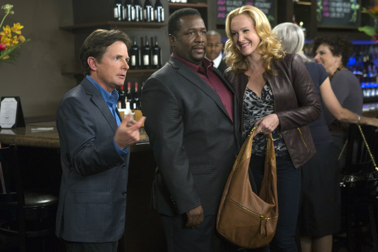 "THE MICHAEL J. FOX SHOW -- ""Party"" Episode 112 -- Pictured: (l-r)  -- (Photo by: Eric Liebowitz/NBC)"