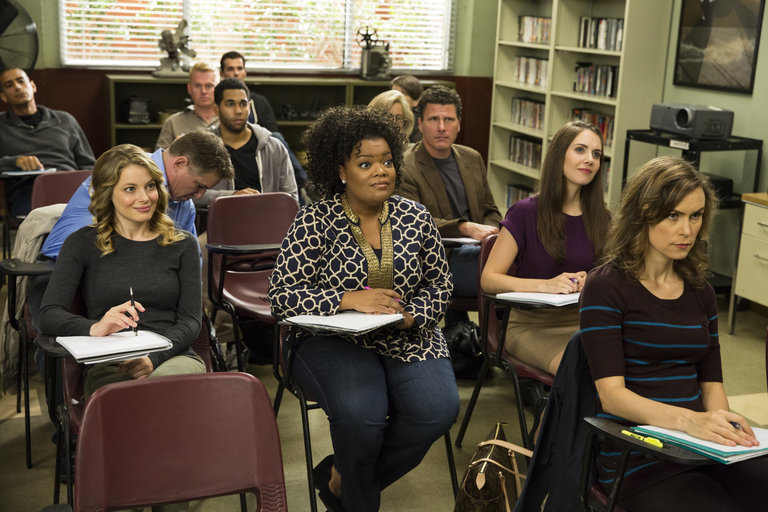 "Community -- ""Introduction to Teaching"" -- Pictured: (l-r)  -- (Photo by: Justin Lubin/NBC)"