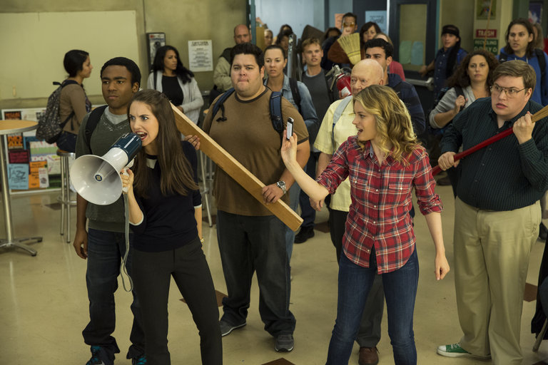 "COMMUNITY -- ""Introduction to Teaching"" Episode 502 -- Pictured: -- (Photo by: Justin Lubin/NBC)"