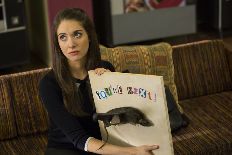 "COMMUNITY -- ""Introduction to Teaching"" Episode 502 -- Pictured: Alison Brie as Annie"