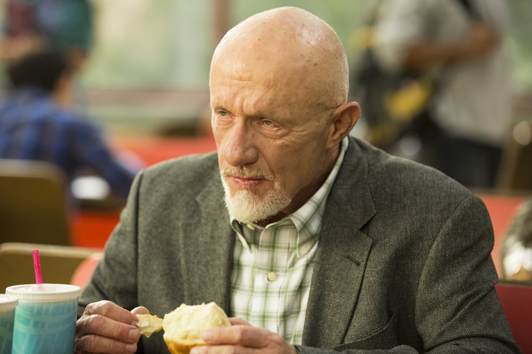 "COMMUNITY -- ""Introduction to Teaching"" Episode 502 -- Pictured: Jonathan Banks as Hickey"