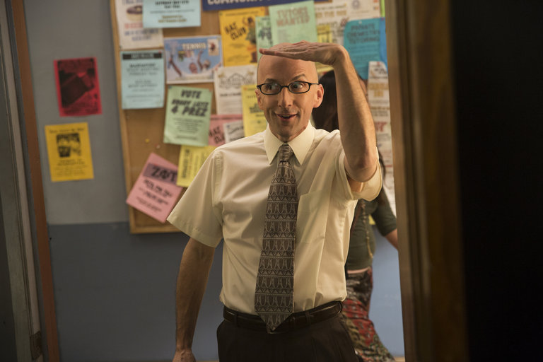 "Community -- ""Introduction to Teaching"" -- Pictured: Jim Rash as Dean Pelton"