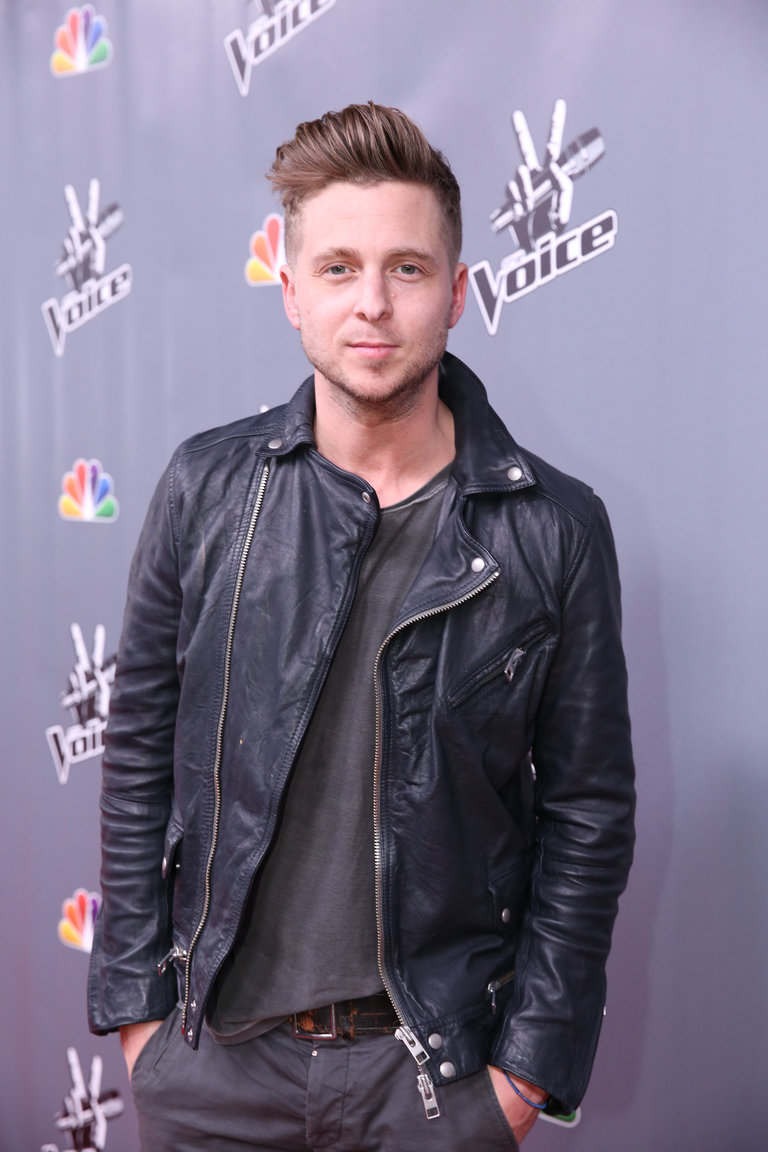 "THE VOICE -- ""Live Finale"" Episode 519B -- Pictured: Ryan Tedder of One Republic -- (Photo by: Tyler Golden/NBC)"