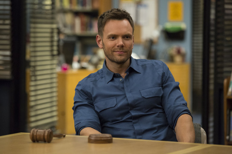 "COMMUNITY -- ""Basic Sandwich"" -- Pictured: Joel McHale as Jeff Winger -- (Photo by: Justin Lubin/NBC)"