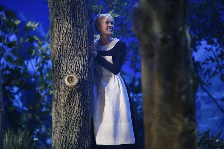 Pictured: Carrie Underwood as Maria -- (Photo by: Will Hart/NBC)