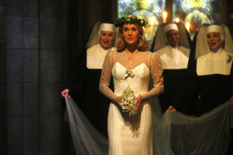 Pictured: Carrie Underwood as Maria -- (Photo by: Will Hart/NBC/NBCU Photo Bank)