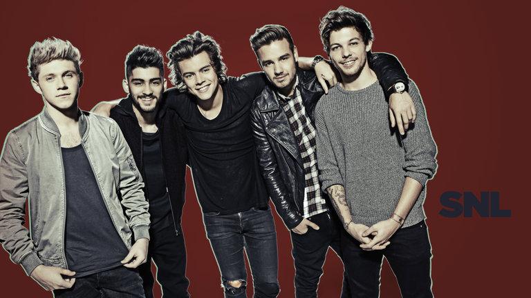 Click through Mary Ellen Matthews' dazzling shots of host Paul Rudd and musical guest One Direction!