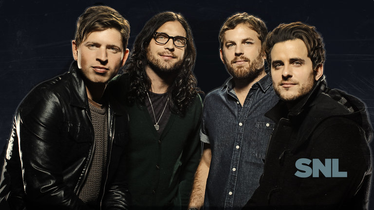 Check out this week's collection of bumper photos with host John Goodman and musical guest Kings of Leon!