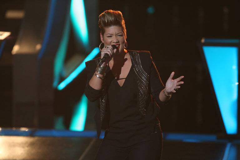 Tessanne was a seasoned performer, having sung backup for the legendary Jimmy Cliff for three years. Now on The Voice, she was looking to challenge herself and grow as an artist.