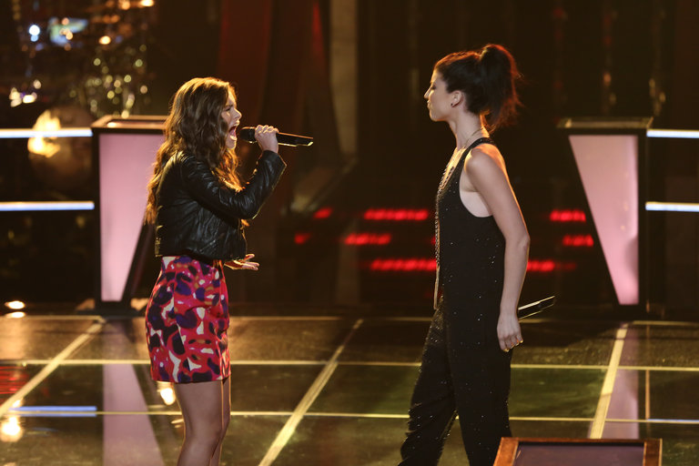 "Preparing her for the battle rounds, Team Christina's advisor Ed Sheeran told Jacquie to find a personal connection to the song she would sing. She followed his advice and beat Briana Cuoco with ""House of the Rising Sun."""