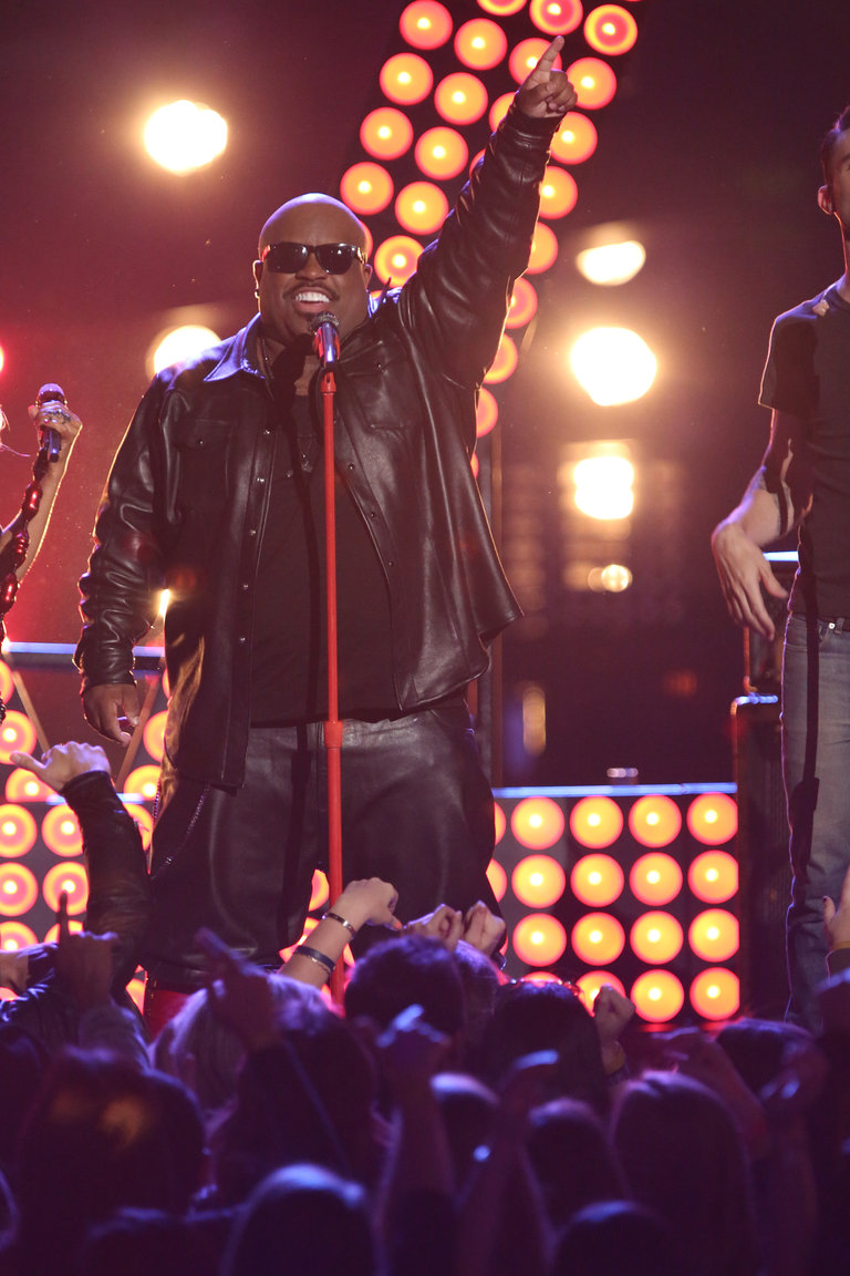 "THE VOICE -- ""Live Show"" Episode 519A -- Pictured: CeeLo Green -- (Photo by: Tyler Golden/NBC)"