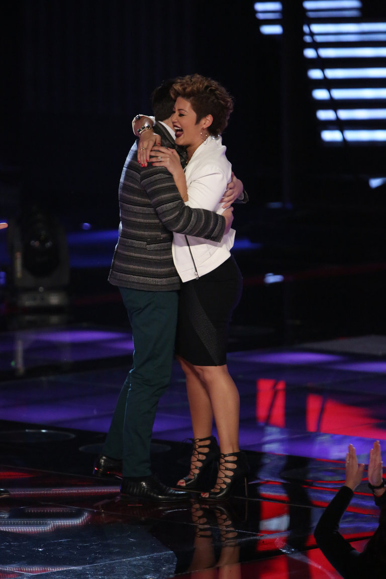 "For the Top 12, Tessanne went back to Emeli Sande, this time taking on the singer's ""My Kind of Love."" Once again, she blew everyone away, particularly her coach, to advance to the next round."