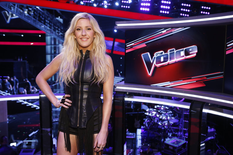 "THE VOICE -- ""Live Show"" Episode 516B -- Pictured: Ellie Goulding -- (Photo by: Trae Patton/NBC)"