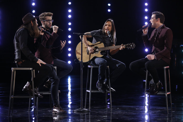 "In the results show, Will joined James, Cole and Extreme guitarist Nuno Bettencourt in a moving take on ""More Than Words"" before finding out America had voted him into the semifinals."