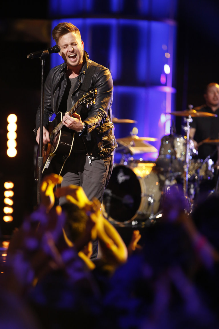 "THE VOICE -- ""Live Finale"" Episode 519B -- Pictured: Ryan Tedder of One Republic  -- (Photo by: Trae Patton/NBC)"