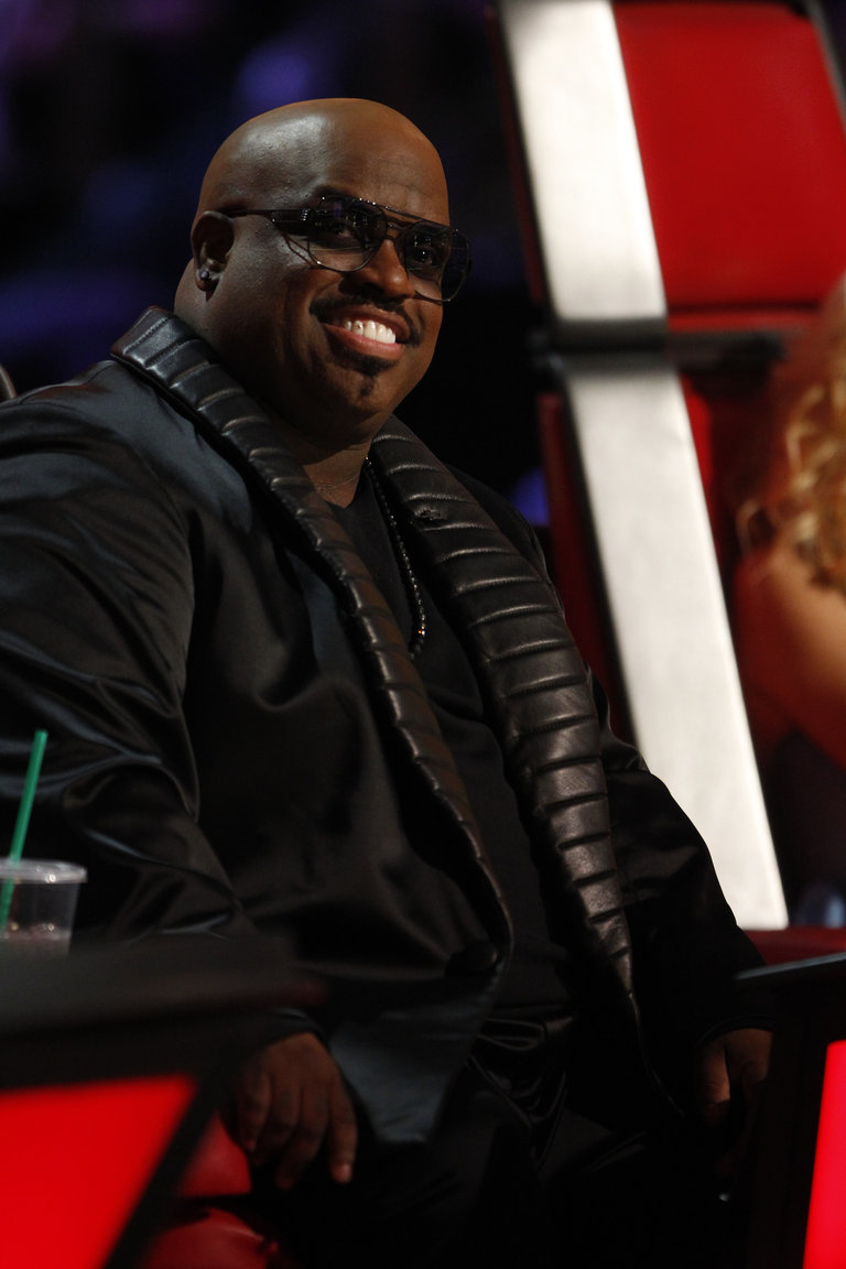 "THE VOICE -- ""Live Show"" Episode 519A -- Pictured: CeeLo Green -- (Photo by: Trae Patton/NBC)"