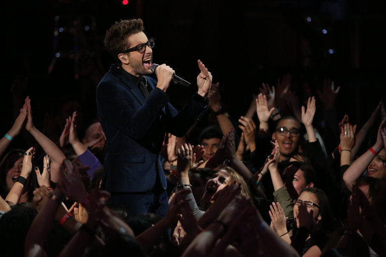 "THE VOICE -- ""Live Finale"" Episode 519B -- Pictured: Will Champlin -- (Photo by: Tyler Golden/NBC)"