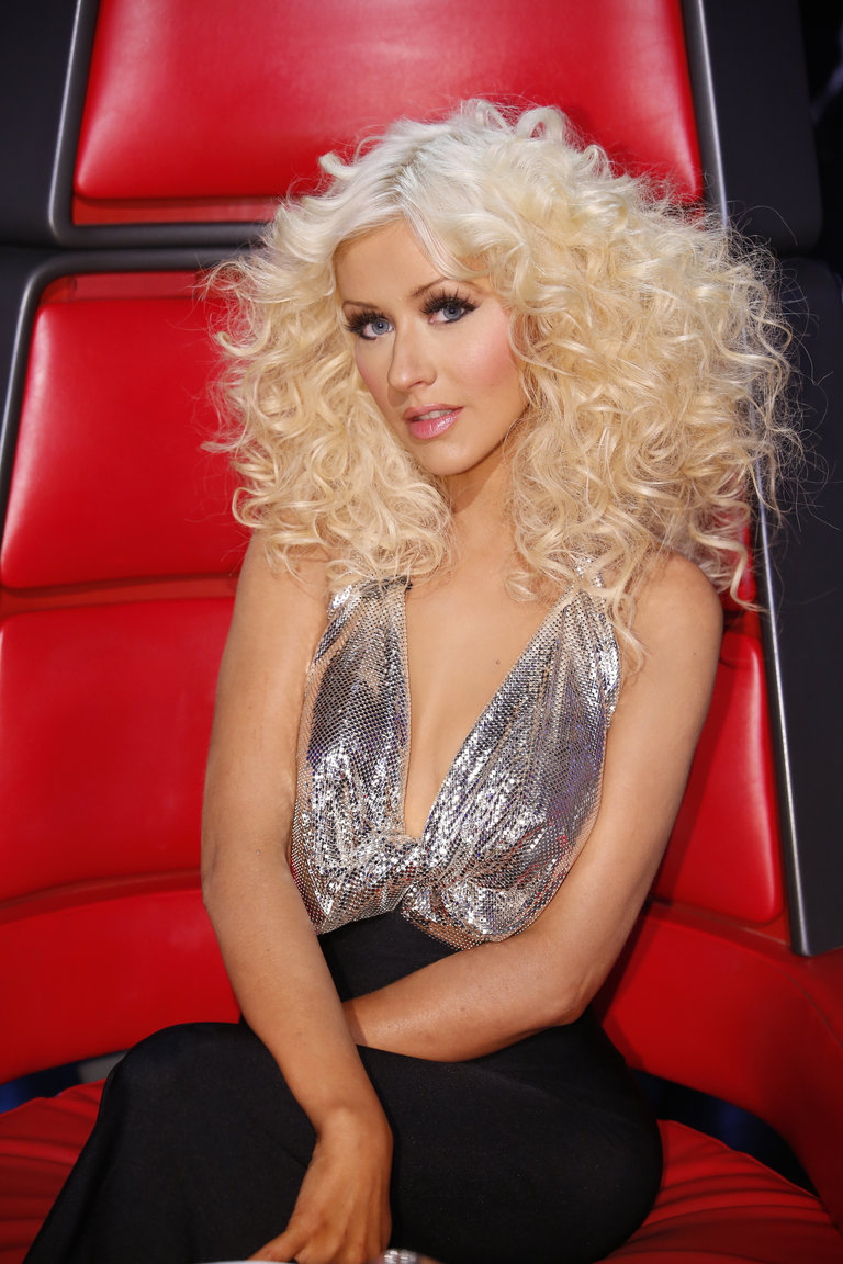 "THE VOICE -- ""Live Finale"" Episode 519B -- Pictured: Christina Aguilera  -- (Photo by: Trae Patton/NBC)"