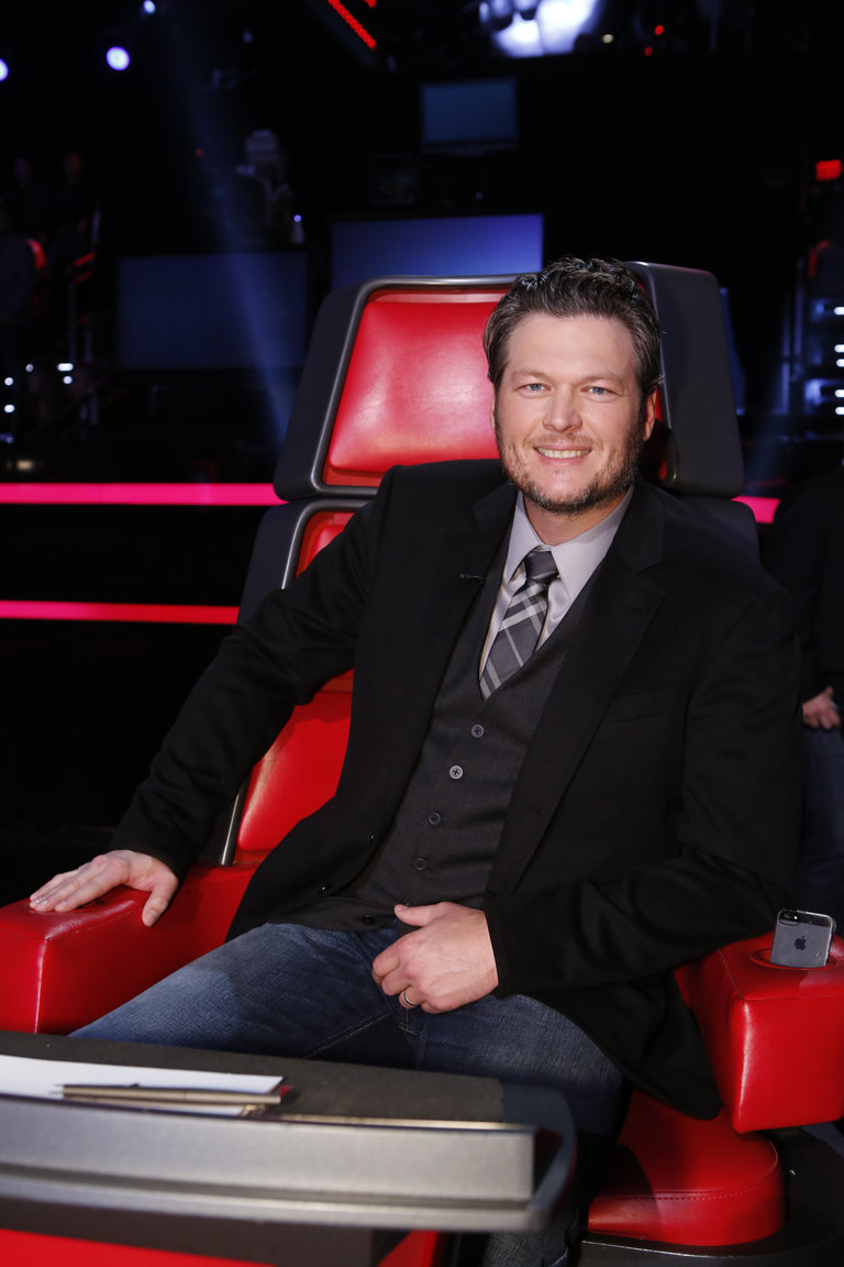 "THE VOICE -- ""Live Finale"" Episode 519B -- Pictured: Blake Shelton -- (Photo by: Trae Patton/NBC)"