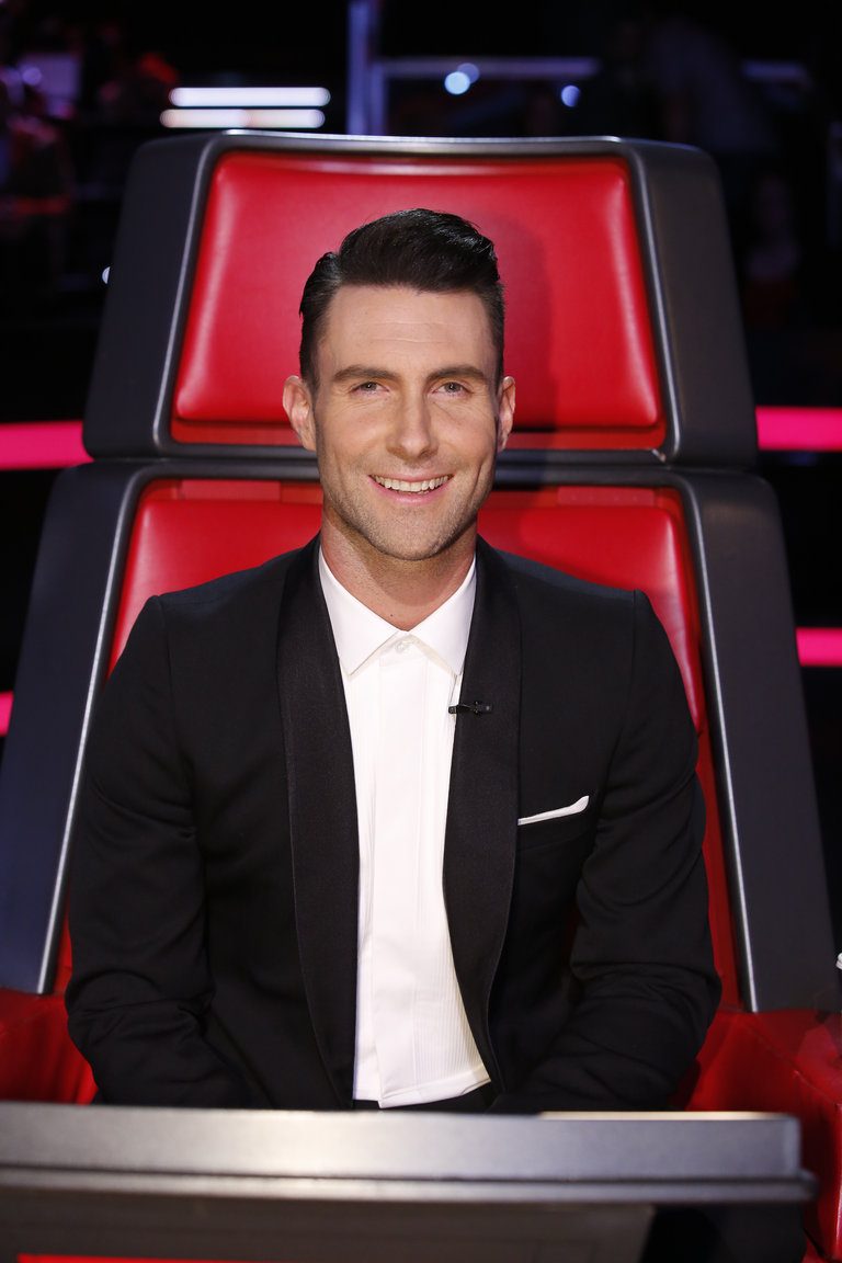 "THE VOICE -- ""Live Show"" Episode 519A -- Pictured: Adam Levine -- (Photo by: Trae Patton/NBC)"