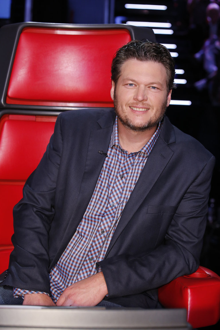"THE VOICE -- ""Live Show"" Episode 519A -- Pictured: Blake Shelton -- (Photo by: Trae Patton/NBC)"