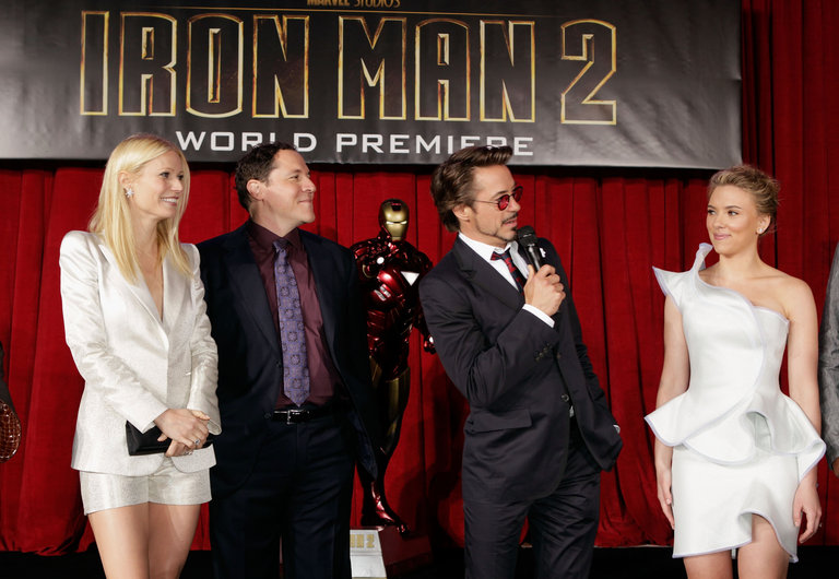 """Iron Man 2"" World Premiere - Red Carpet"