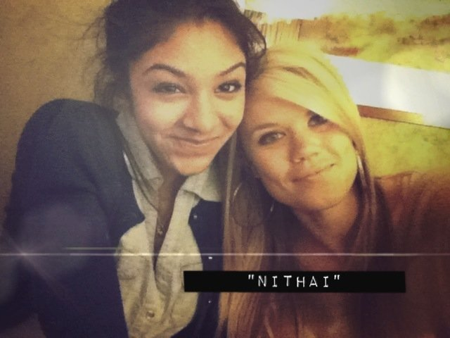"""nithai"" (our couple name.)"