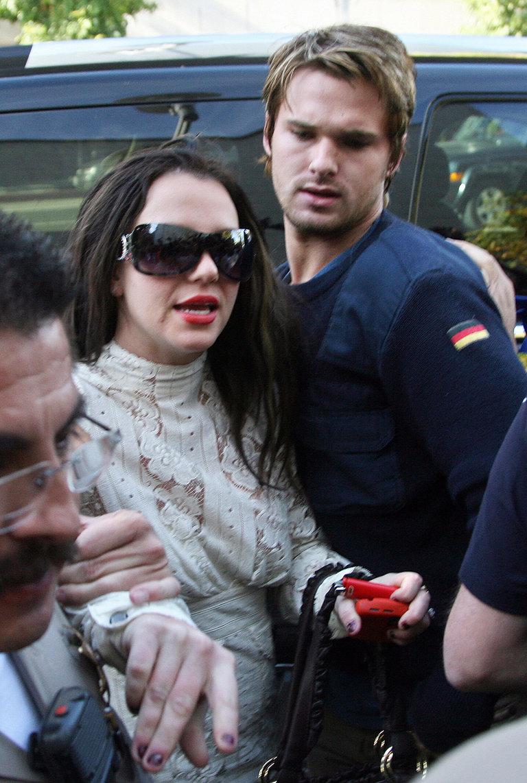 (FILES) US pop star Britney Spears arriv