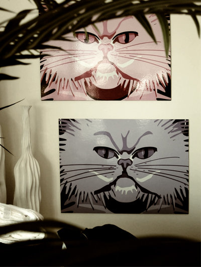A Portrait of Cee Lo's Cat, Purrfect