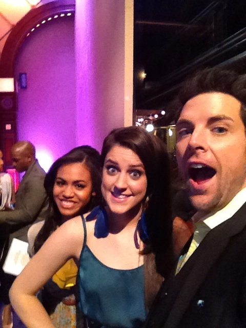 At Jay Leno w Lindsey Pavao!
