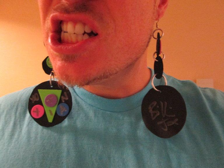 Autographed Earrings