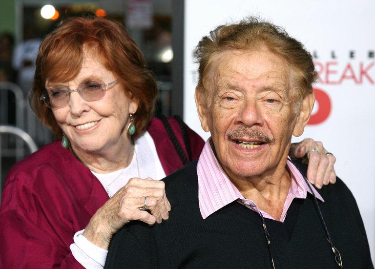 Ben Stiller's parents, actors Jerry Stil