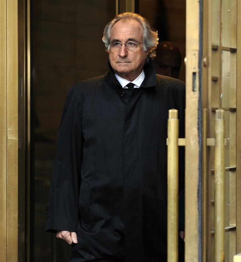 Bernard L. Madoff leaves US Federal Cour