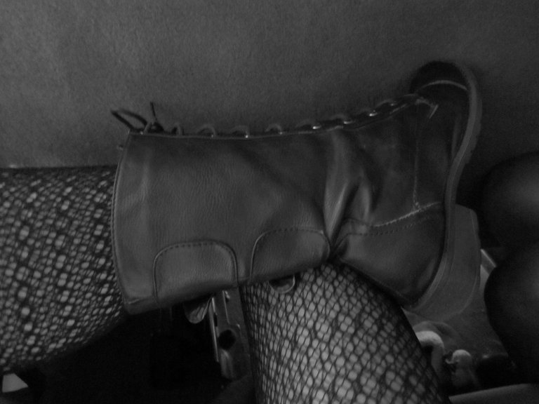 Boots in the Voice Van