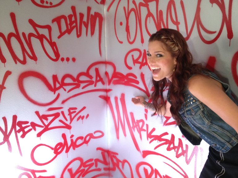 Cassadee graffiti!