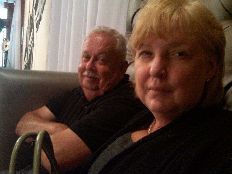 Cecil and Mary in L.A. for the Blind Auditions