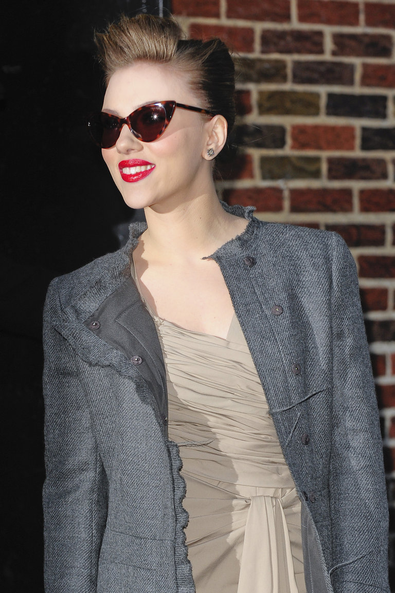 "Celebrity Arrivals At ""Late Show With David Letterman"""