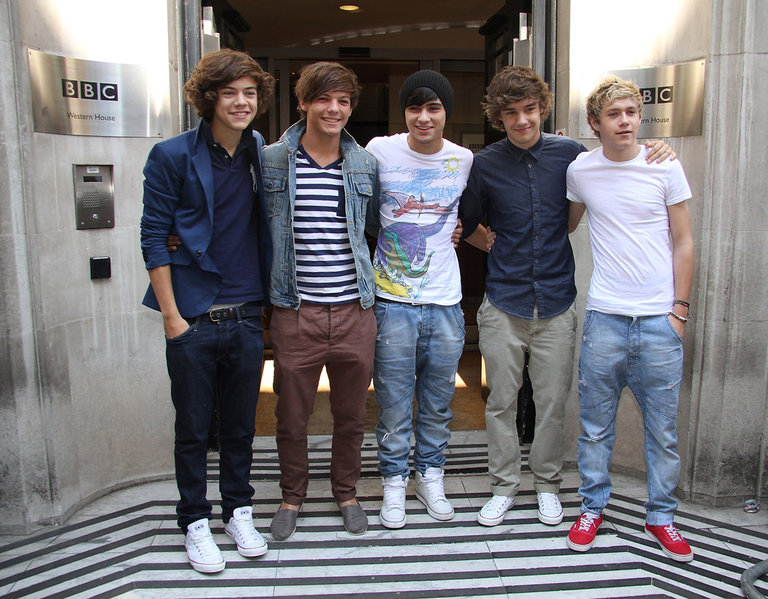 Celebrity Sightings In London - August 24, 2011