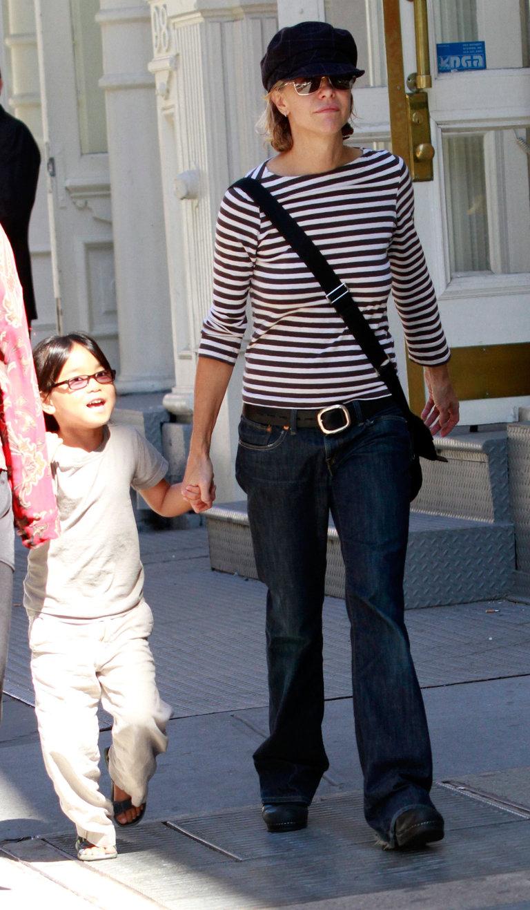 Celebrity Sightings In New York - September 11, 2010