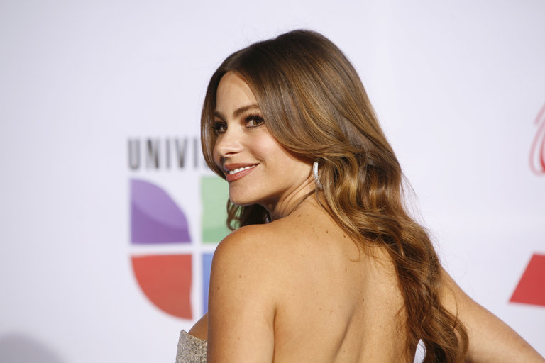 Colombian actress Sofia Vergara arrives