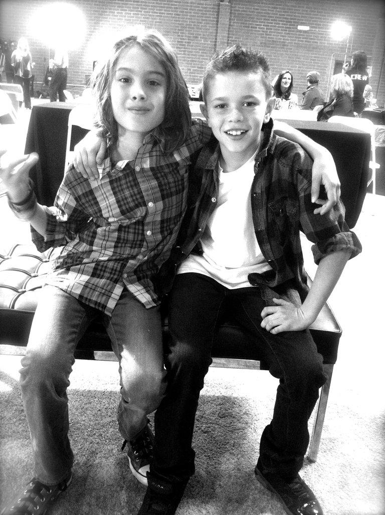 Cooper & Liam.